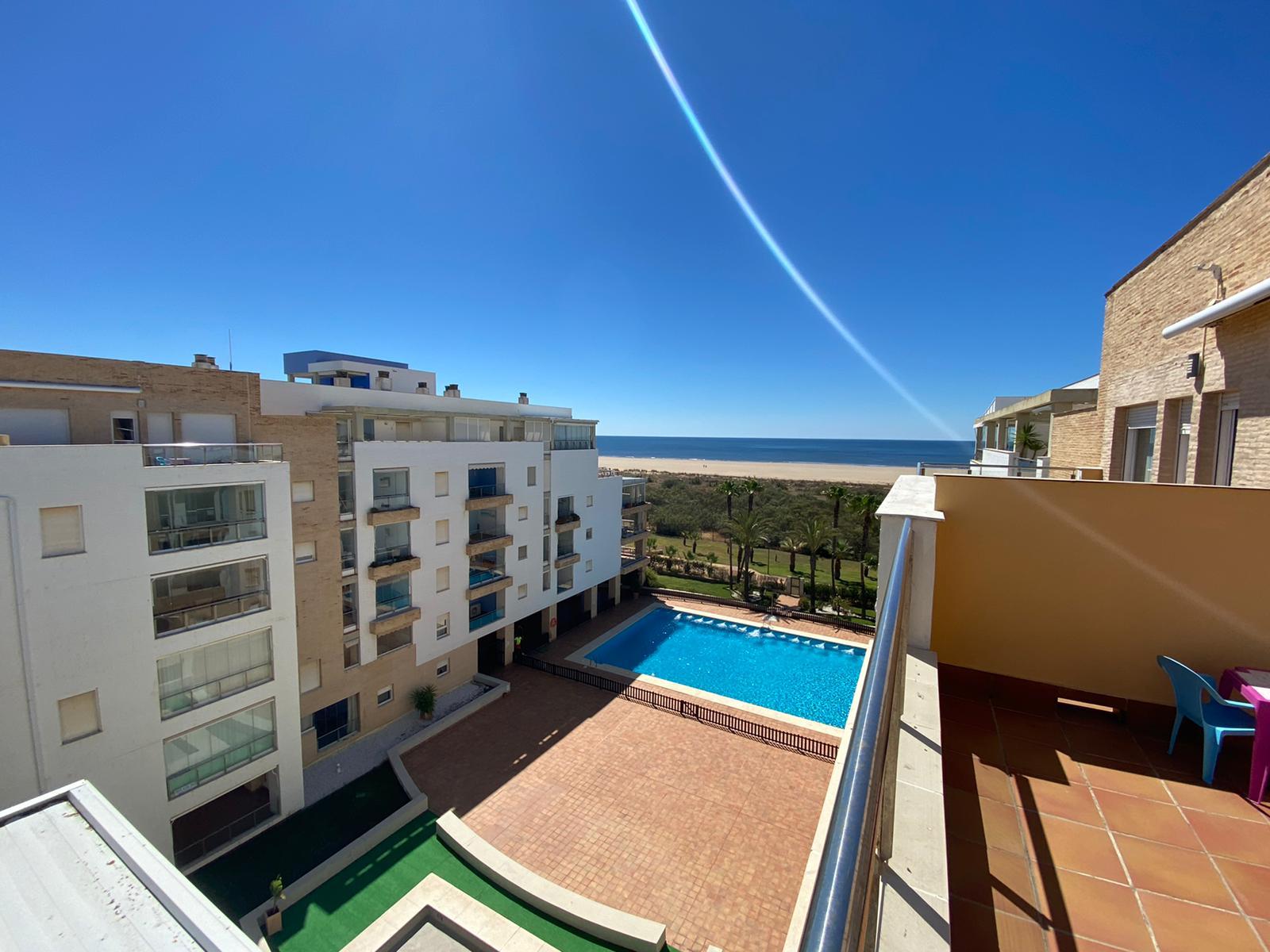 Imagen 6 del Apartamento Turístico, Ático 7 Poniente (3d+2b), Punta del Moral (HUELVA), Paseo de la Cruz nº22