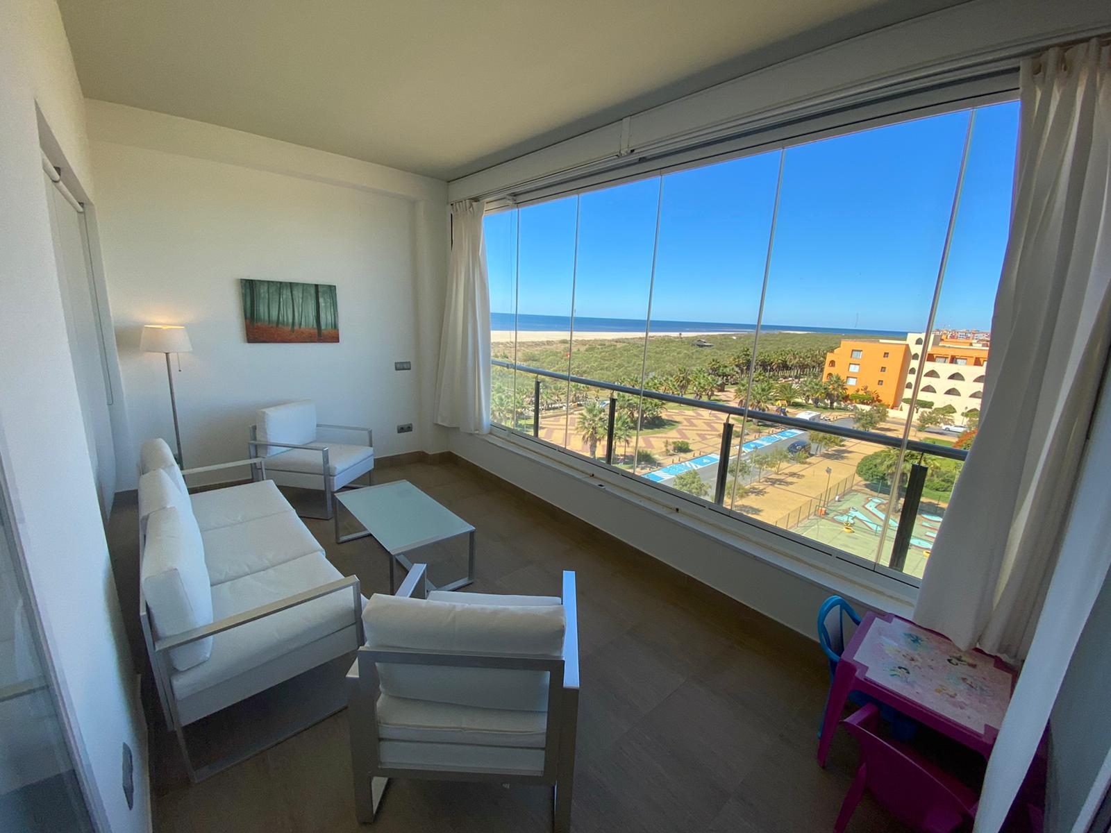 Imagen 1 del Apartamento Turístico, Ático 1 Poniente (3d+2b), Punta del Moral (HUELVA), Paseo de la Cruz nº22