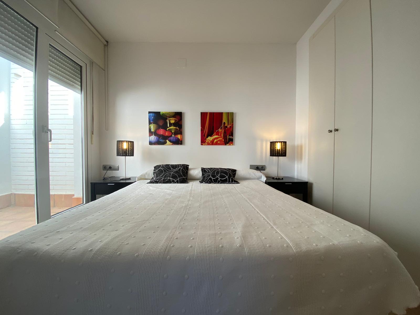 Imagen 17 del Apartamento Turístico, Ático 1 Poniente (3d+2b), Punta del Moral (HUELVA), Paseo de la Cruz nº22