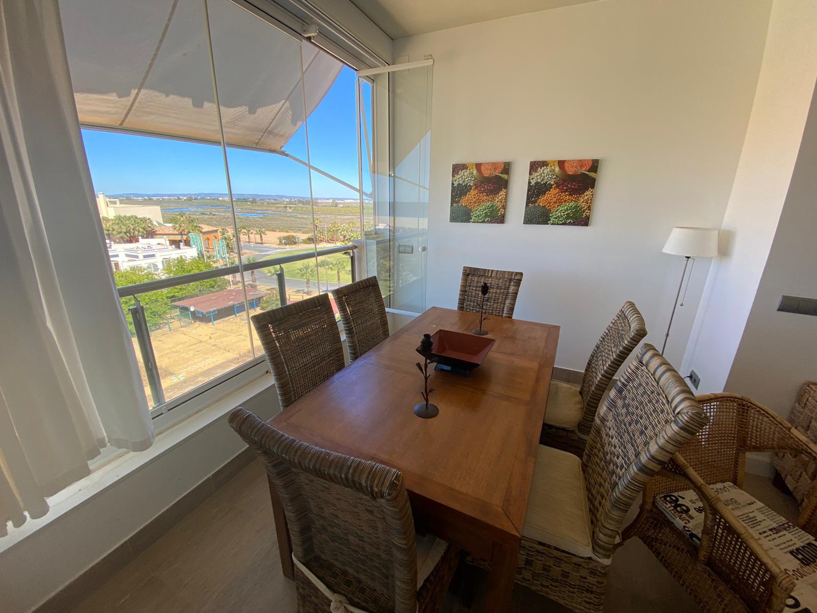 Imagen 5 del Apartamento Turístico, Ático 1 Poniente (3d+2b), Punta del Moral (HUELVA), Paseo de la Cruz nº22