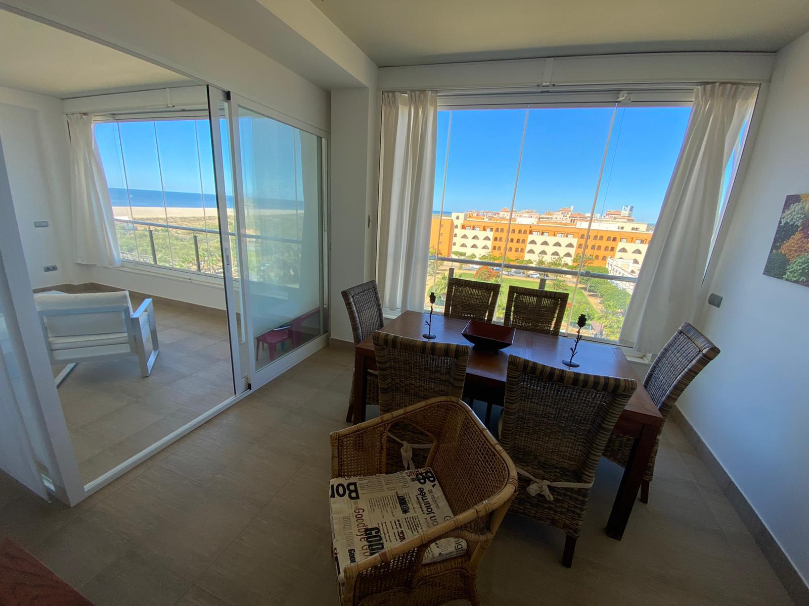 Imagen 7 del Apartamento Turístico, Ático 1 Poniente (3d+2b), Punta del Moral (HUELVA), Paseo de la Cruz nº22