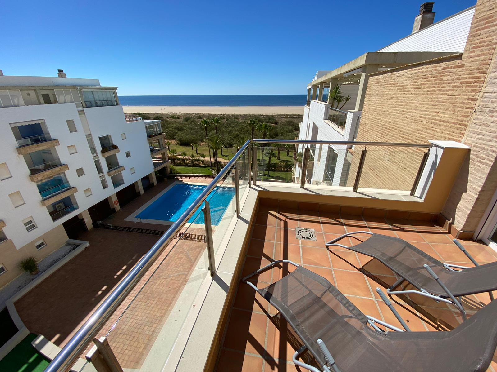 Imagen 2 del Apartamento Turístico, Ático 6 Poniente (3d+2b), Punta del Moral (HUELVA), Paseo de la Cruz nº22