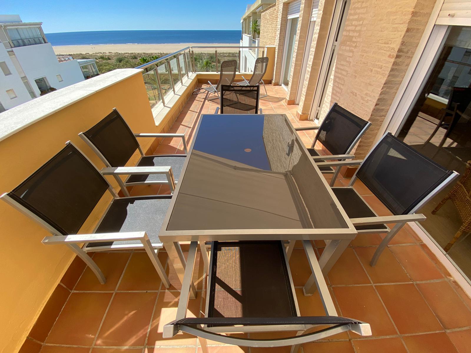 Imagen 32 del Apartamento Turístico, Ático 6 Poniente (3d+2b), Punta del Moral (HUELVA), Paseo de la Cruz nº22