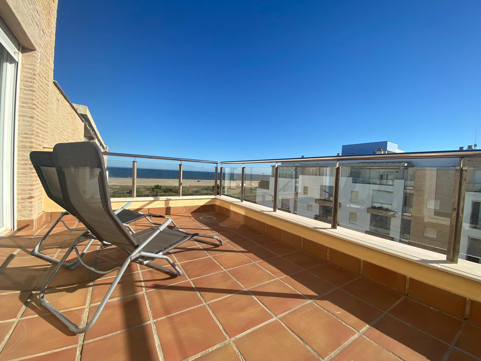 Imagen 1 del Apartamento Turístico, Ático 1 Levante (3d+2b), Punta del Moral (HUELVA), Paseo de la Cruz nº22