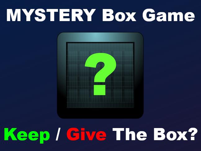 ภาพประกอบไอเดีย Mystery Box Game