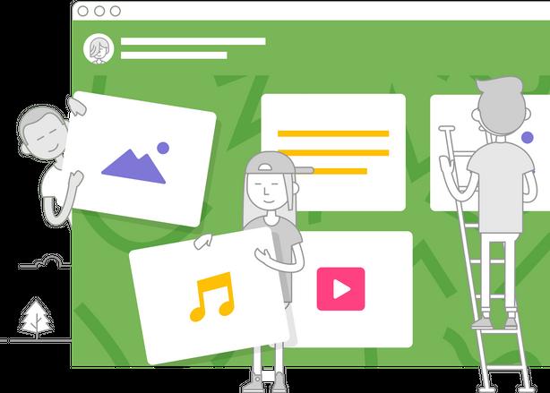 ภาพประกอบไอเดีย Padlet เพื่อการเรียนการสอนแบบมีส่วนร่วม