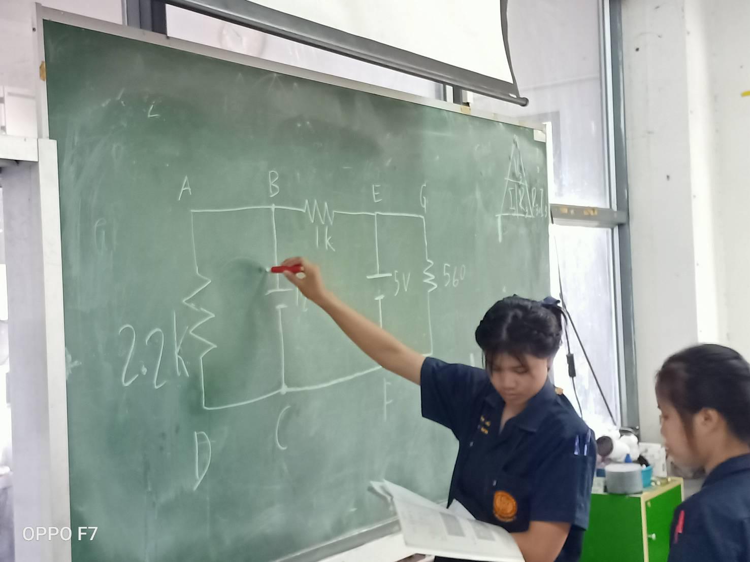 ภาพประกอบไอเดีย การวัดค่าVp ในออสซินโลสโคบ