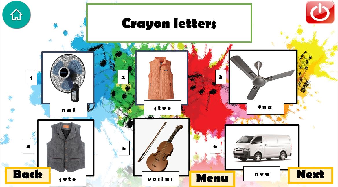 ภาพประกอบไอเดีย Crayon Letters /ปั้นดินน้ำมัน/เรียงอักษรให้เป็นคำ