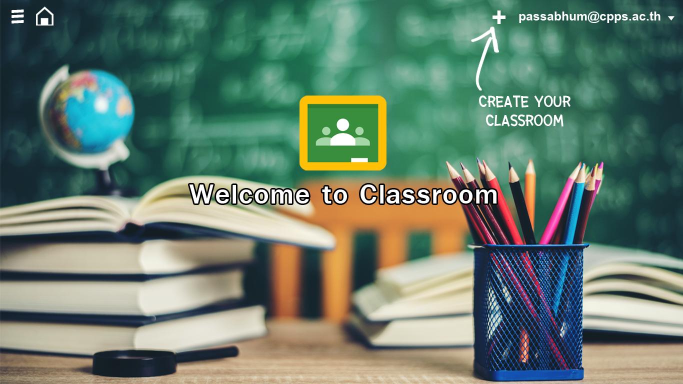 ภาพประกอบไอเดีย Google Classroom ห้องเรียนออนไลน์ในยุคนี้