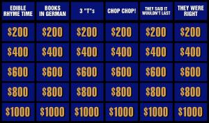 ภาพประกอบไอเดีย Jeopardy เปลี่ยนห้องเรียนเป็นเกมโชว์