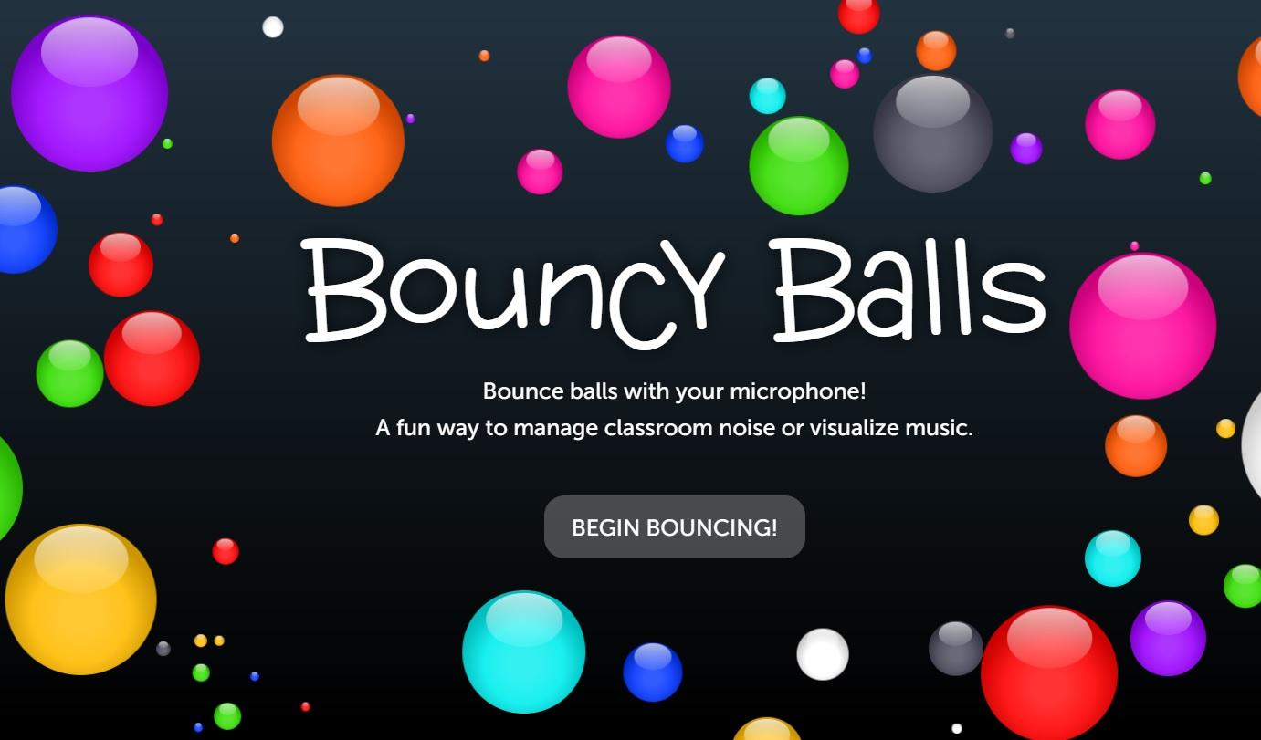 ภาพประกอบไอเดีย นักเรียนคุยเสียงดังทำไงดีนะ?! Bouncy Balls สิ!