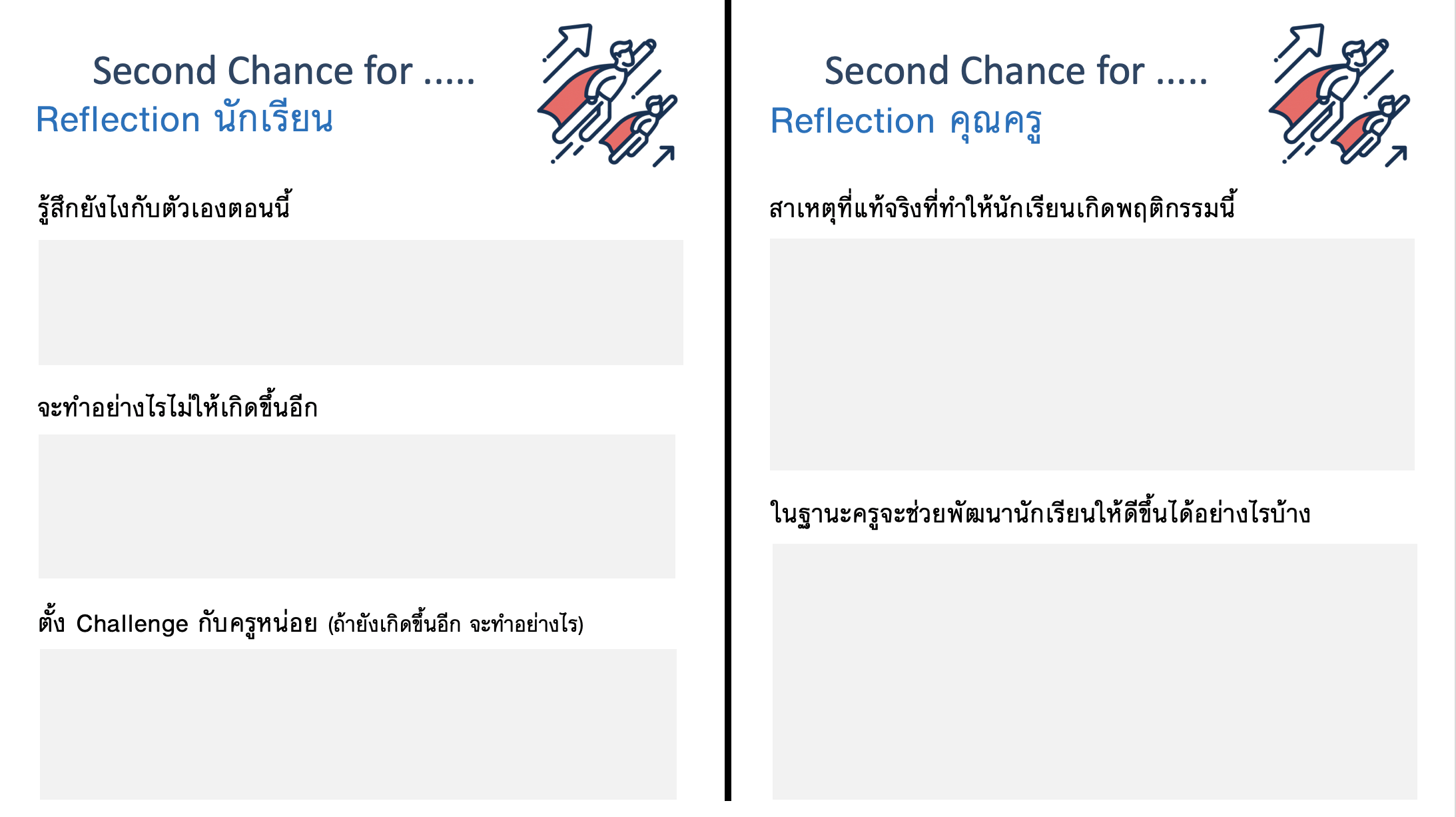 ภาพประกอบไอเดีย The Second Chance Card