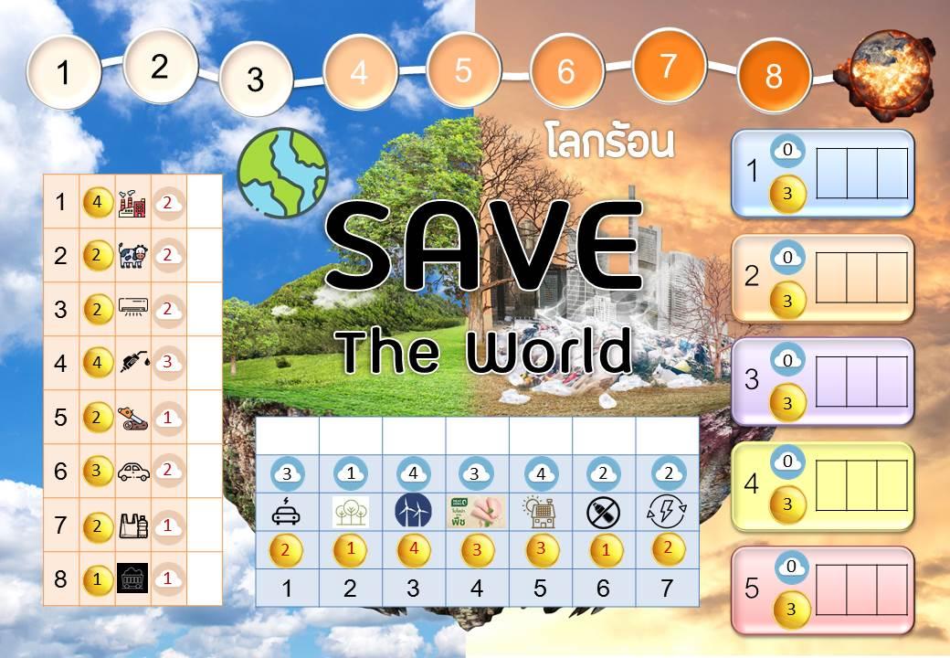 ภาพประกอบไอเดีย เกม Save The World