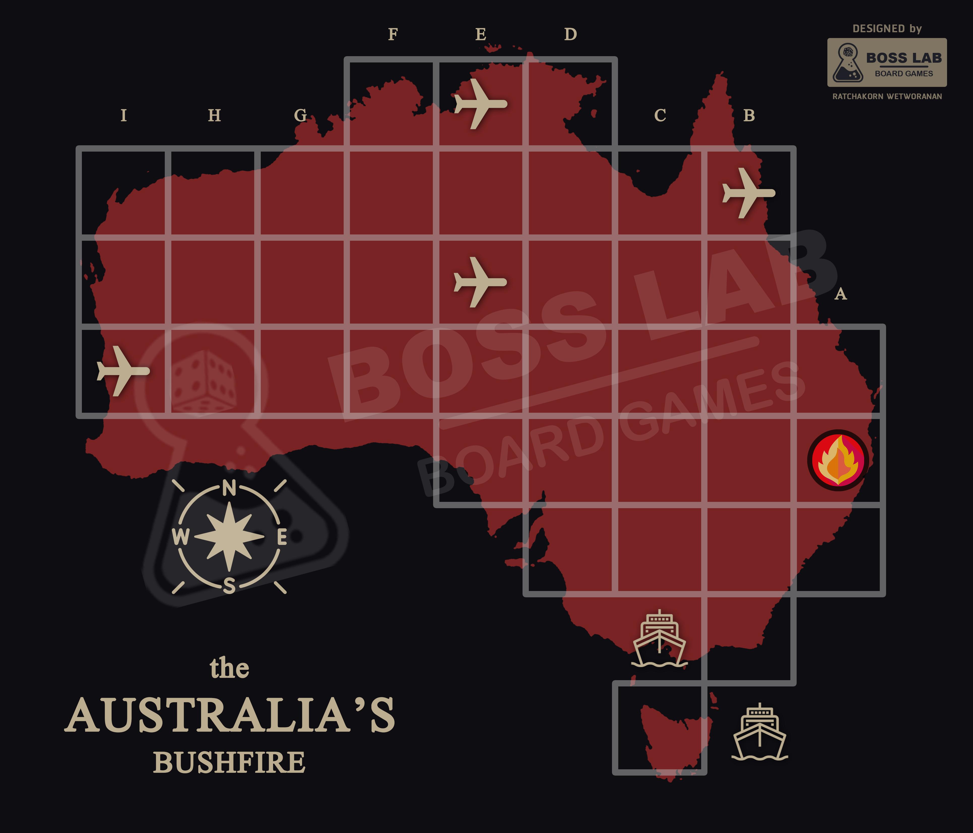 ภาพประกอบไอเดีย the Australia's Bushfire - เกมเรียนรู้ไฟป่า
