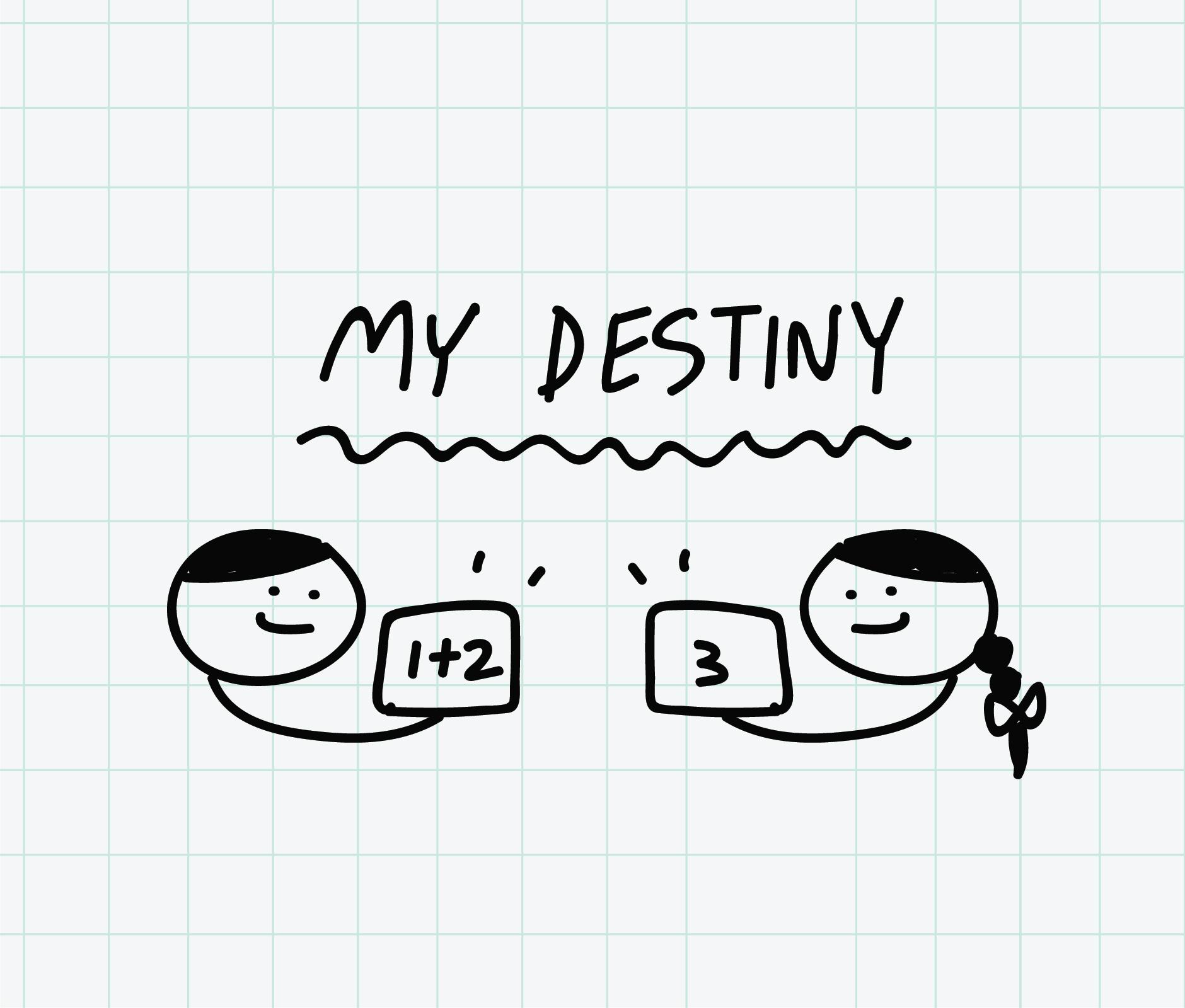 ภาพประกอบไอเดีย เกมส์ My destiny (ทบทวนบทเรียน)