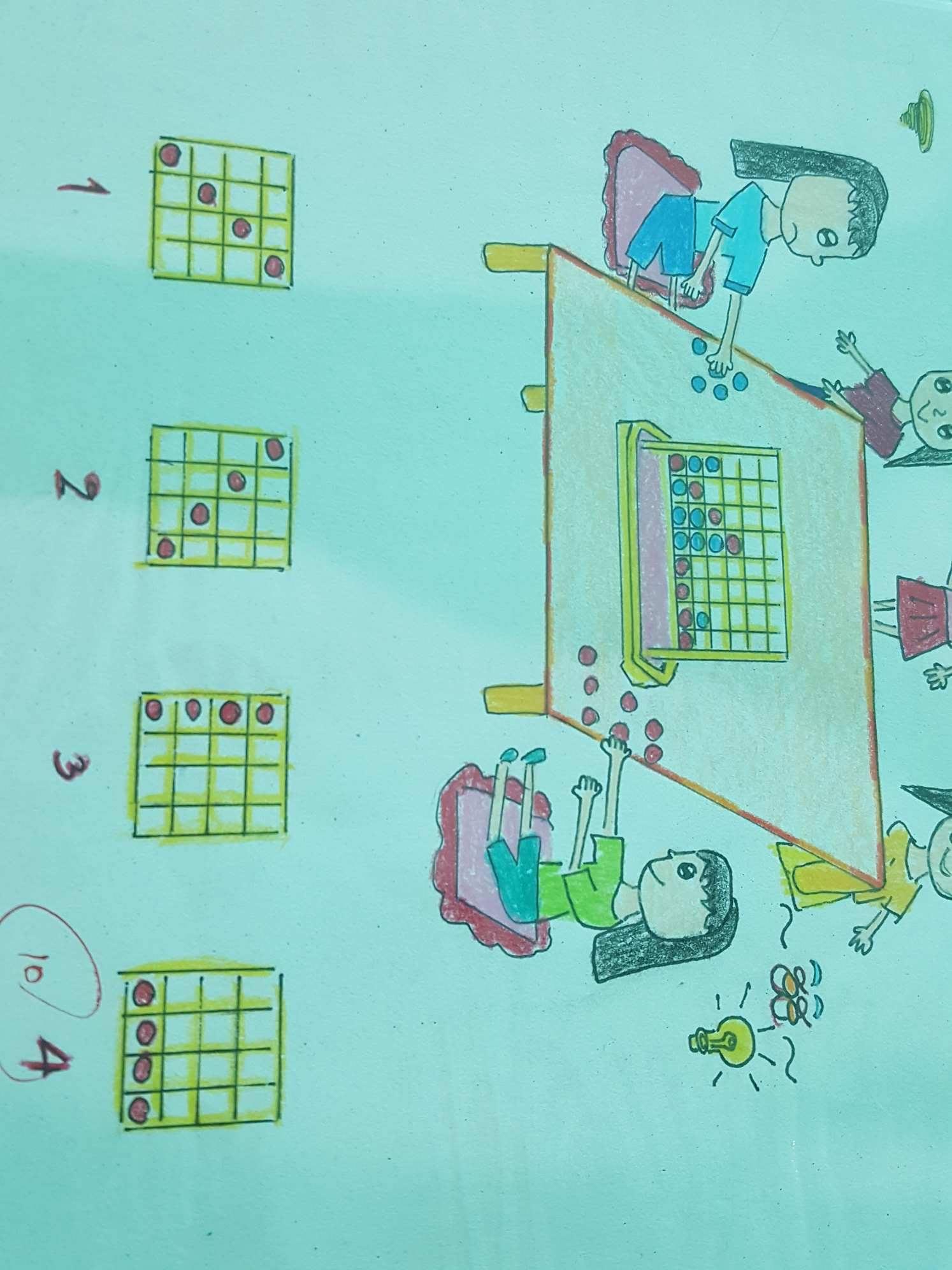 ภาพประกอบไอเดีย บิงโกคิดเลข