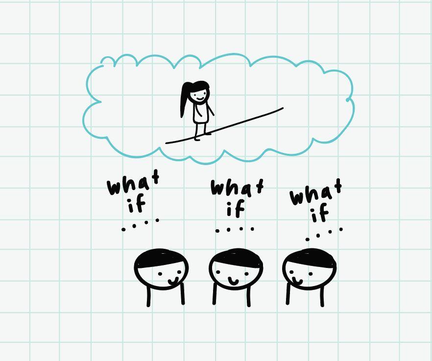 ภาพประกอบไอเดีย what if จะเกิดอะไรขึ้นถ้า...