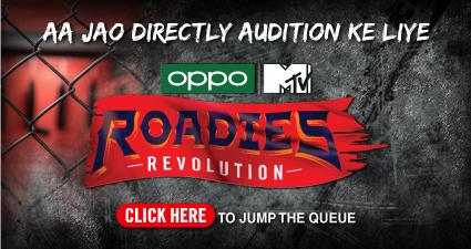 MTV Roadies Revolution 2020 audition online