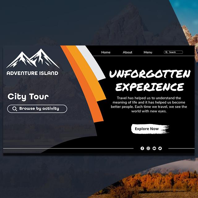 Adventure Trip Web UI