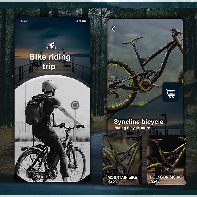 Bike Riding Bicycle App