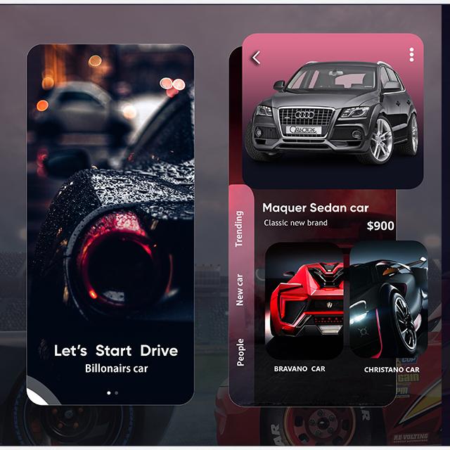 Car Booking Design App