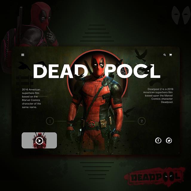 Deadpool Movies Web UI