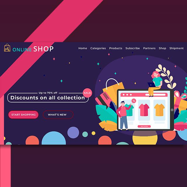 Ecommerce Shopping Web UI