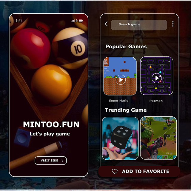Mintoo.Fun Childhood Favorite Games