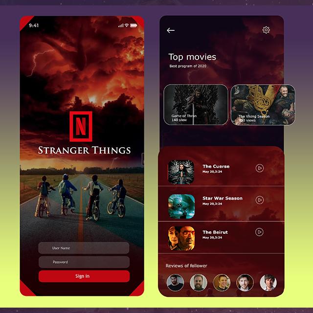 Netflix App Video App