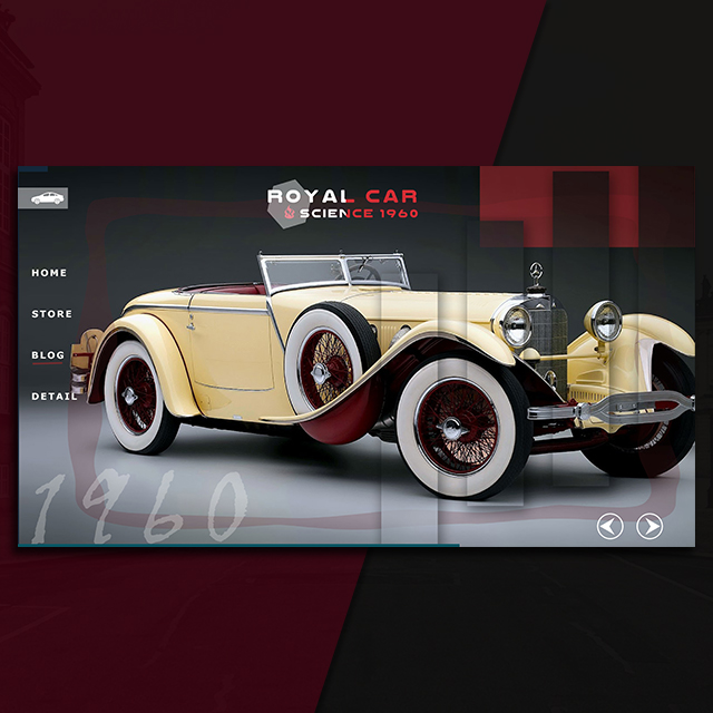 Royal Cars Web UI