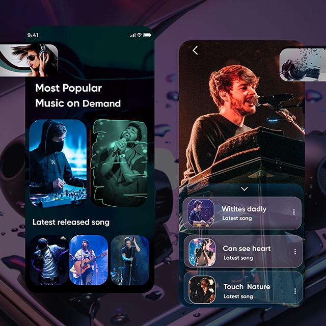 Song Listing Artist Design App