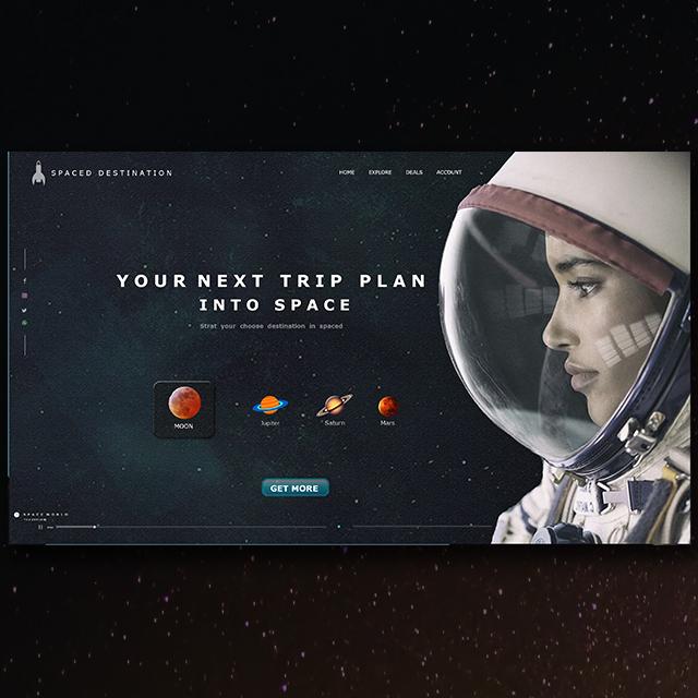 Space Aircraft Web UI