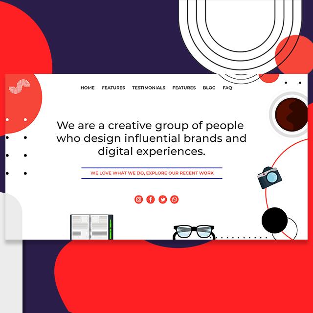 Home Creative Web UI