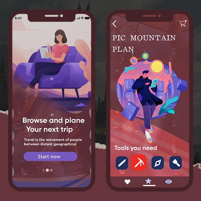 Trips App UI