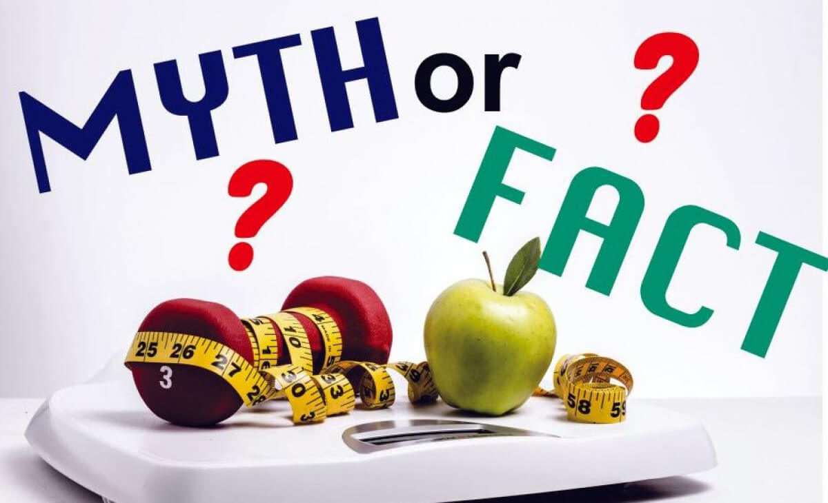 3 Common Weight Loss Myths and Facts