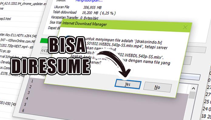 "Thumbnail - Mengatasi Masalah IDM ""Do you want to download it from the beginning"""