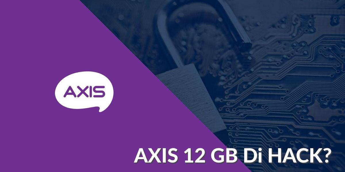 Thumbnail - Kuota Axis Jebol 12GB Akibat Di Hack?