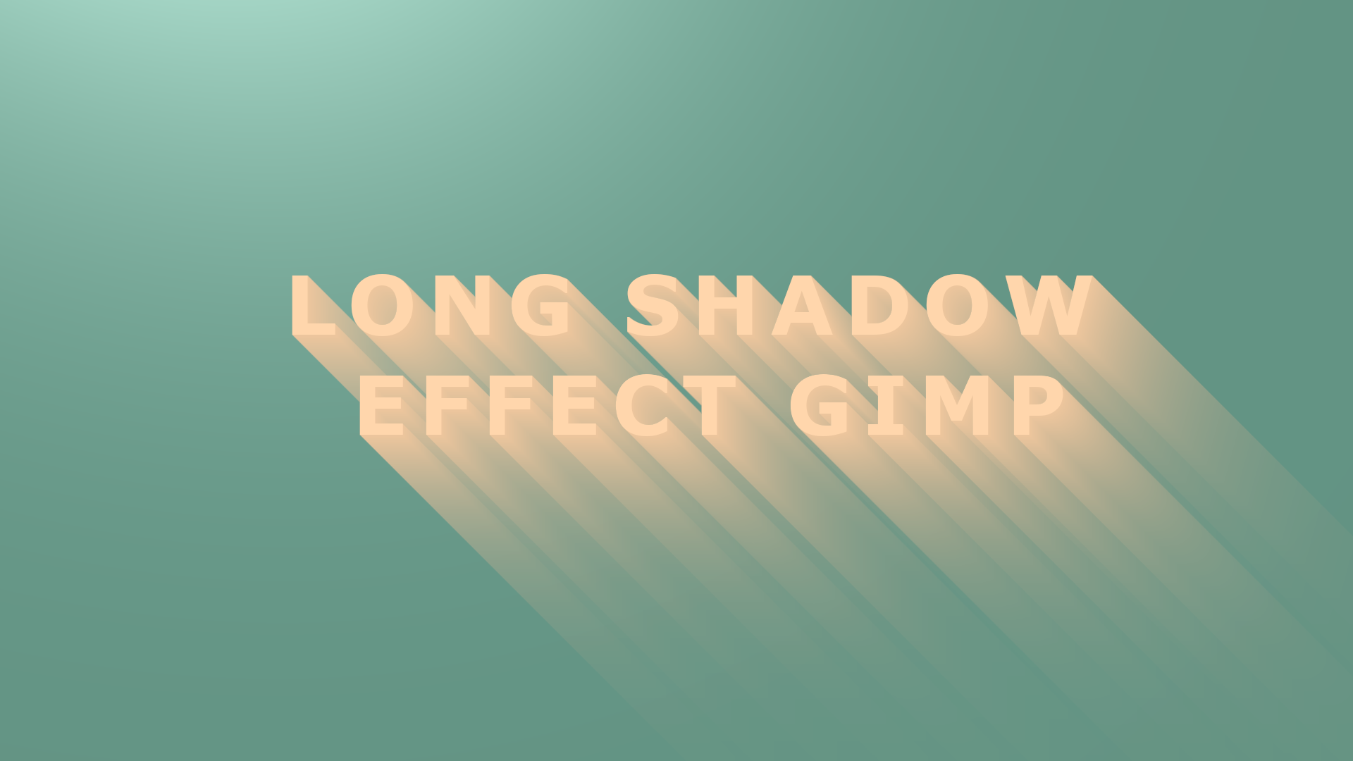 Thumbnail - Membuat Gambar Long Shadow Dengan Mudah di Gimp