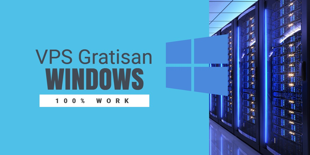 Thumbnail - VPS Windows Gratis Tanpa Syarat- Windows VPS trial 2018