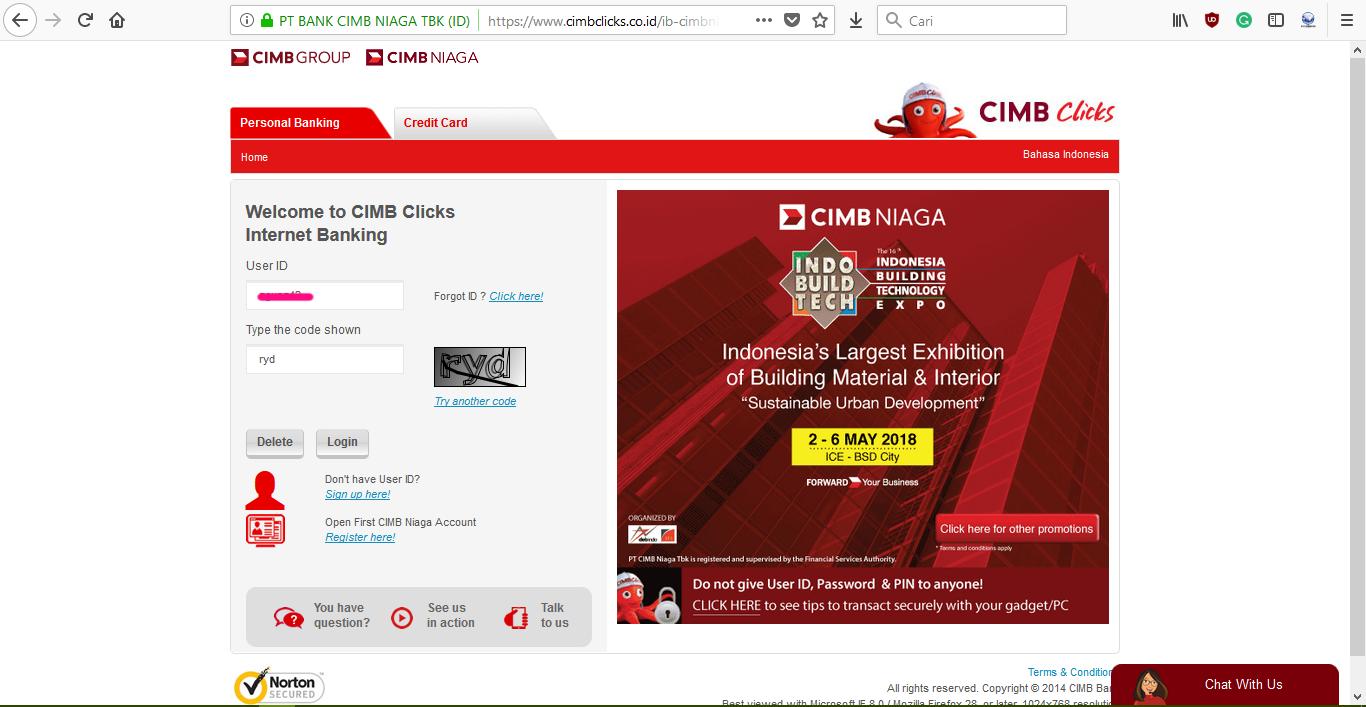 Image - Membuat VCC Paypal Gratis dari CIMBNiaga
