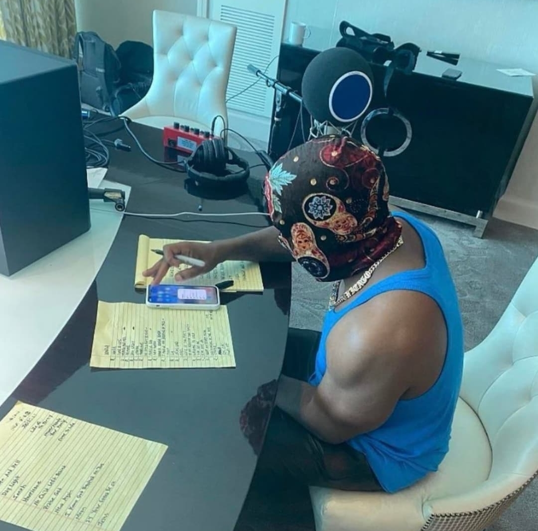 Kanye West Working on the Donda Album prior to the listening party