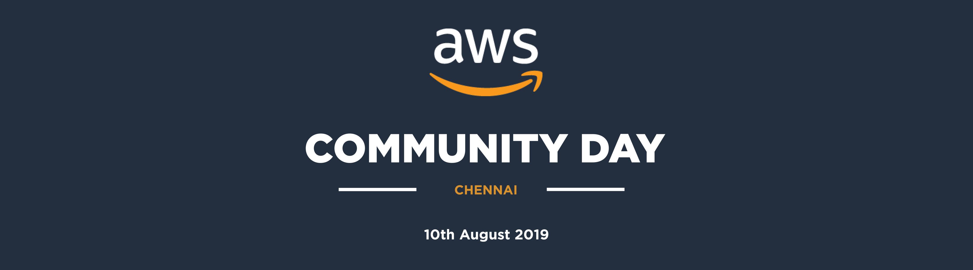 AWS Community Day - Chennai