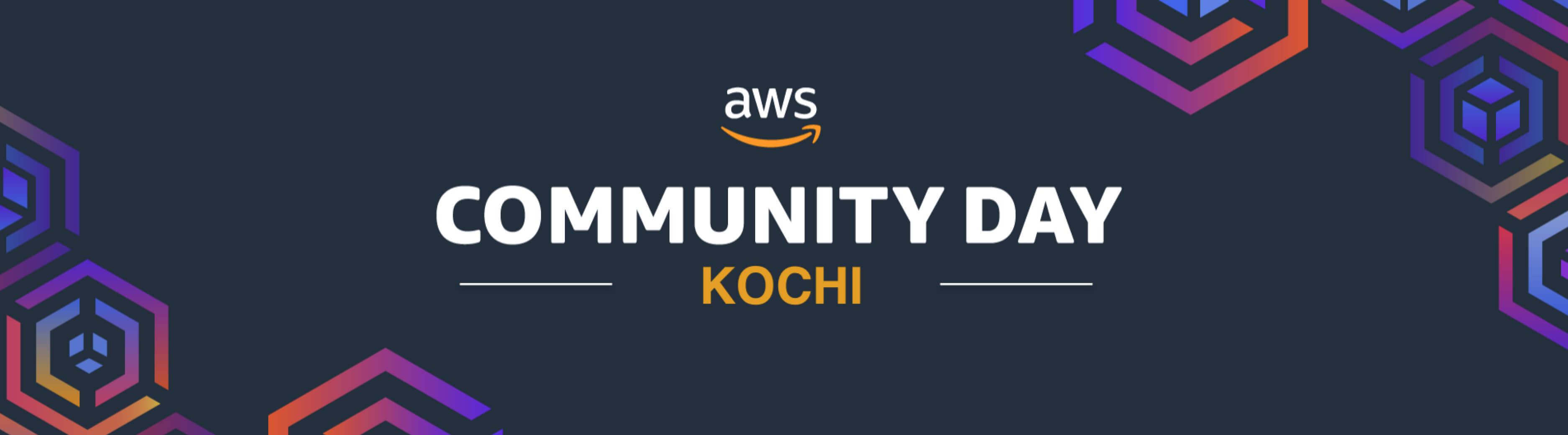 AWS Community Day Kochi - 2019