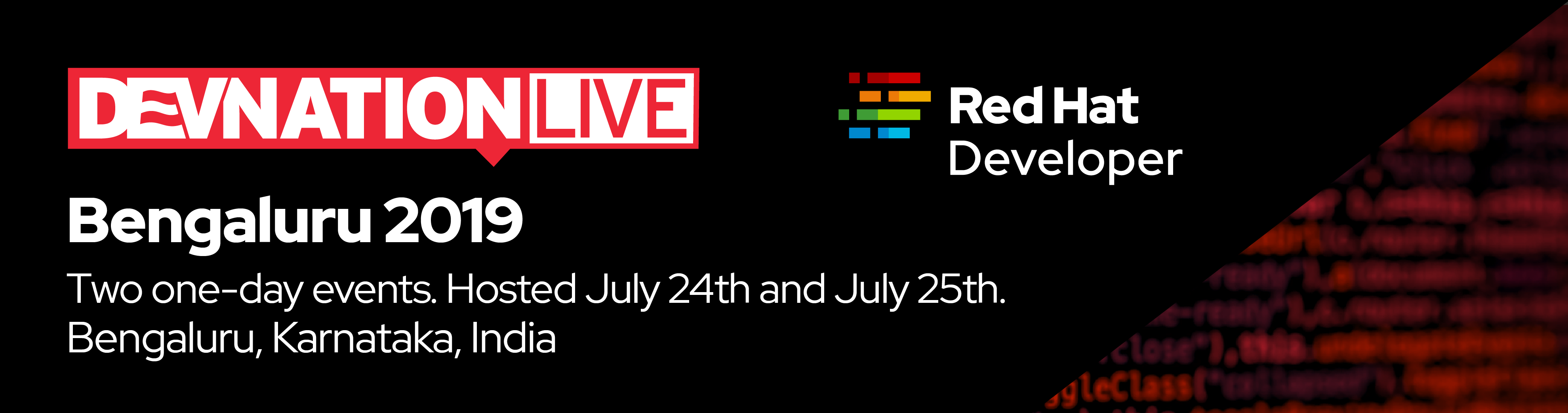 DevNation LIVE Bengaluru 2019