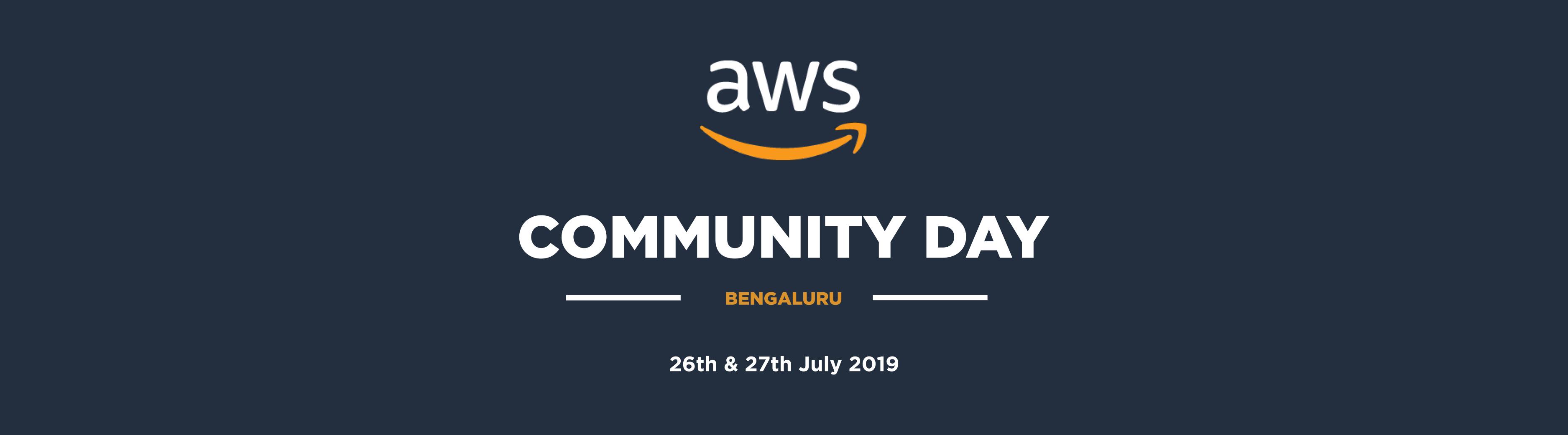 AWS Community Day - Bengaluru