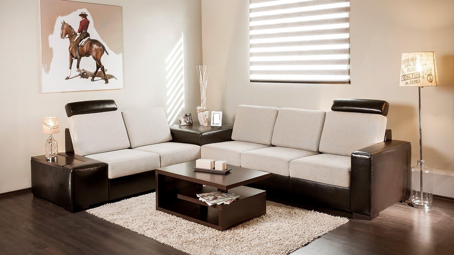 City kanapé sarokasztallal