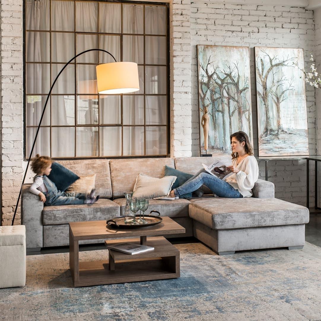 City lábtartós kanapé