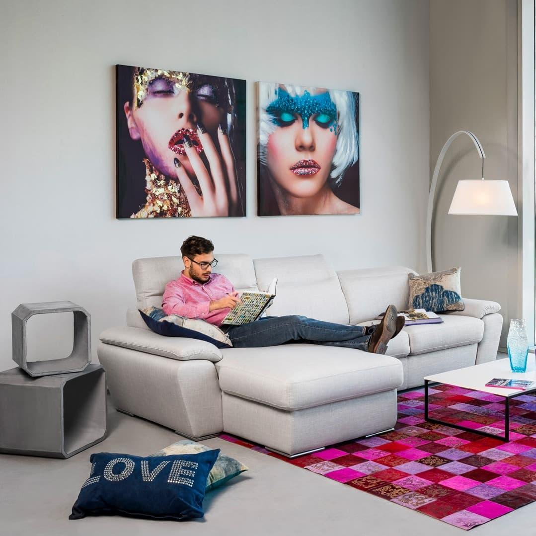 Manhattan I lábtartós kanapé