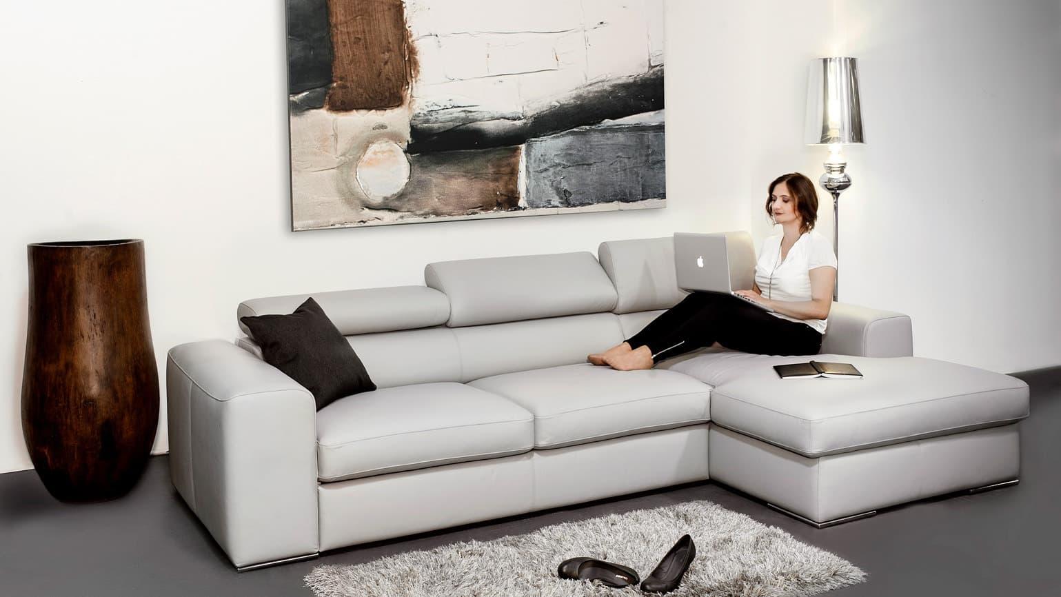 Metropol lábtartós kanapé