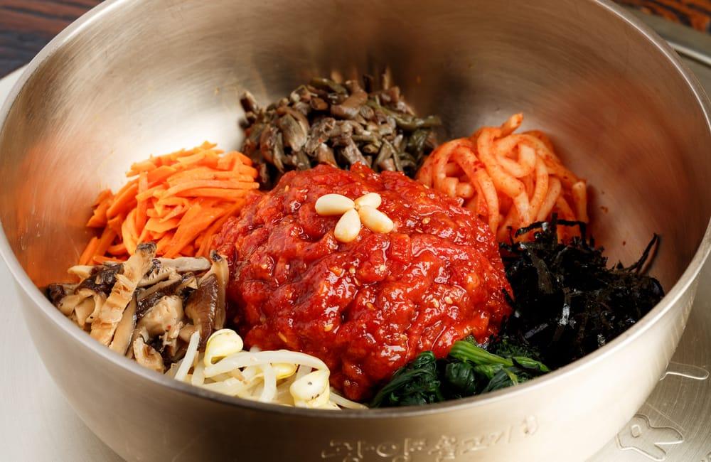 광양불고기 육회비빔밥